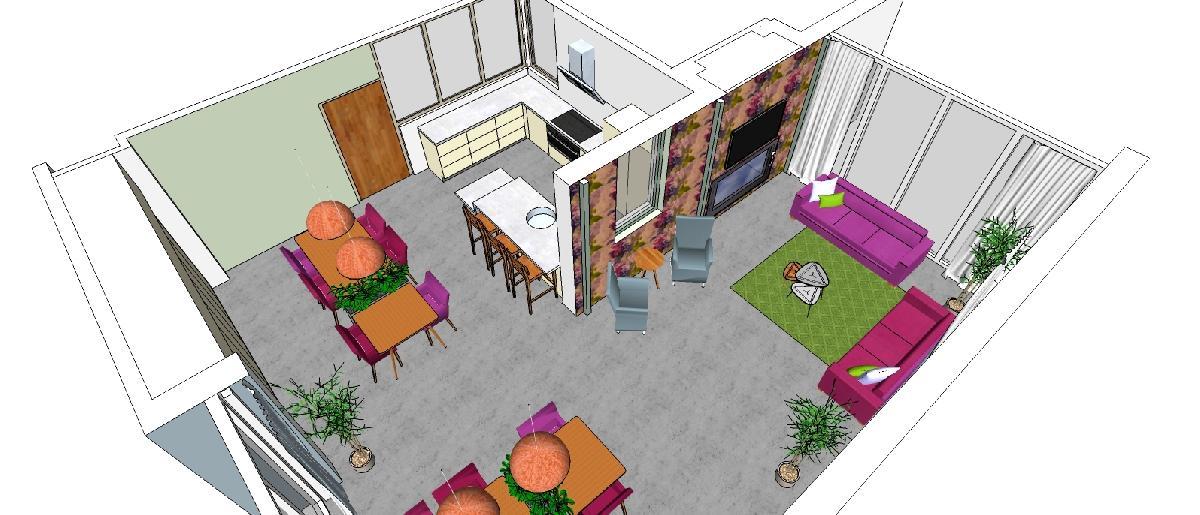 Interieurarchitect Zorg Healing Environment
